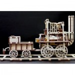 Eco-Wood-Art-42 Puzzle 3D en Bois - Locomotion