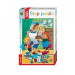 Puzzle  Step-Puzzle-73005 Karlsson-on-the-Roof