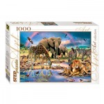 Puzzle  Step-Puzzle-79090 Savanna