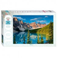 Puzzle  Step-Puzzle-79099 Moraine Lake, Canada