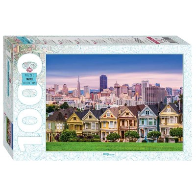 Puzzle Step-Puzzle-79141 The Painted Ladies of San Francisco