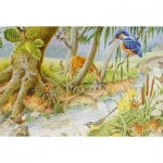 Puzzle  The-House-of-Puzzles-1370 Pièces XXL - By The Riverbank