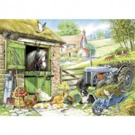 Puzzle  The-House-of-Puzzles-1394 Pièces XXL - Down On The Farm