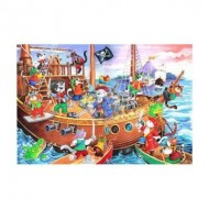 Puzzle  The-House-of-Puzzles-1851 Pièces XXL - Pirates Ahoy