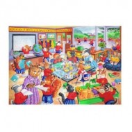 Puzzle  The-House-of-Puzzles-1868 Pièces XXL - School Days