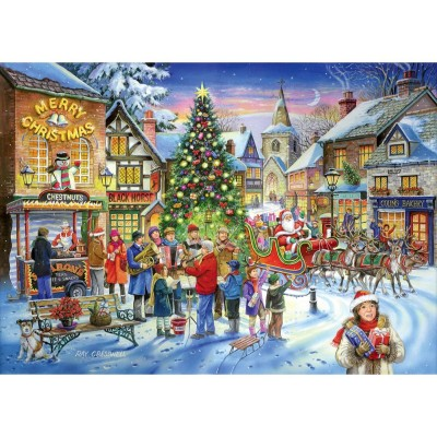 Puzzle The-House-of-Puzzles-2261 Christmas Collectors Edition No.6 - Christmas Shopping