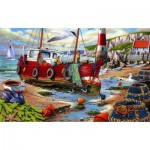 Puzzle  The-House-of-Puzzles-2421 Pièces XXL - High & Dry