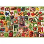 Puzzle  The-House-of-Puzzles-3015 Pièces XXL - Five A Day