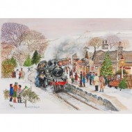 Puzzle  The-House-of-Puzzles-3046 Pièces XXL - Steaming Along