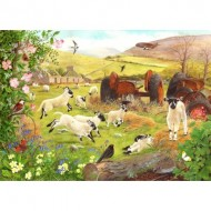 Puzzle  The-House-of-Puzzles-3145 Pièces XXL - Woolly Jumpers