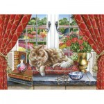 Puzzle  The-House-of-Puzzles-3435 Pièces XXL - King Of The Castle