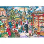 Puzzle  The-House-of-Puzzles-3480 Christmas Collectors Edition No.10 - Window Shopping