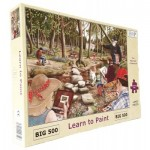 Puzzle  The-House-of-Puzzles-3527 Pièces XXL - Learn To Paint