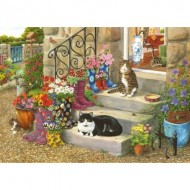 Puzzle  The-House-of-Puzzles-3541 Pièces XXL - Puss 'n' Boots