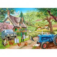 Puzzle  The-House-of-Puzzles-3732 Farm Fresh