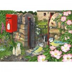 Puzzle  The-House-of-Puzzles-3909 Pièces XXL - Morning Chat