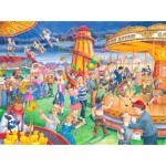 Puzzle  The-House-of-Puzzles-4111 Pièces XXL - Fairground Rides