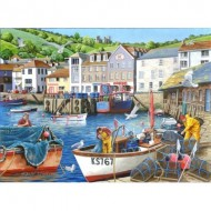 Puzzle  The-House-of-Puzzles-4180 Trouvez les 15 Différences No.12 - Busy Harbour