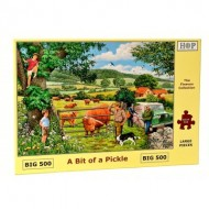 Puzzle  The-House-of-Puzzles-4319 Pièces XXL - A Bit Of A Pickle