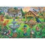 Puzzle  The-House-of-Puzzles-4333 Pièces XXL - Bird Table
