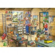 Puzzle  The-House-of-Puzzles-4500 Trouvez les 15 Différences No.14 - Fred's Shed