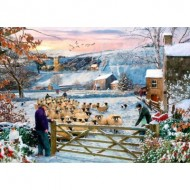 Puzzle  The-House-of-Puzzles-4531 Pièces XXL - Herding The Flock