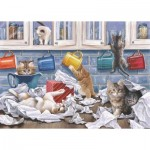 Puzzle  The-House-of-Puzzles-4784 Pièces XXL - Darley Collection - Kitty Litter