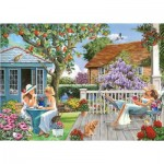 Puzzle  The-House-of-Puzzles-4791 Pièces XXL - Darley Collection - Ladies of Leisure