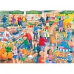 Puzzle  The-House-of-Puzzles-4838 Pièces XXL - Darley Collection - Supermarket Dash