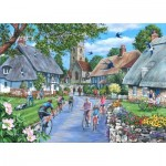Puzzle  The-House-of-Puzzles-4944 Pièces XXL - Sunday Morning