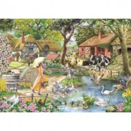 Puzzle  The-House-of-Puzzles-5064 Summer Stroll