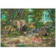 Wentworth-751906 Puzzle en Bois - African Experience