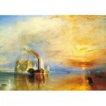 Wentworth-FR112 Puzzle en Bois - Joseph Mallord William Turner - The Fighting Temeraire