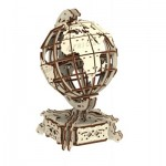 Wooden-City-WR341-8909 Puzzle 3D en Bois - World Globe